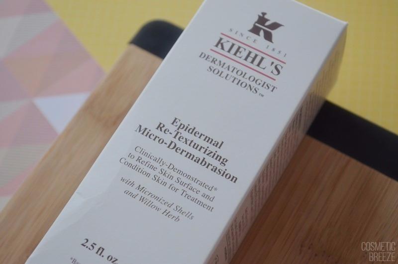 Exfoliante Microdermoabrasión Retexturizante de KIEHLS - Envase