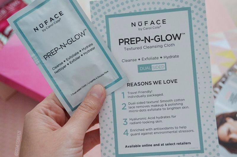 Lookfantastic Beauty Box de Mayo 2017 - NuFace Prep n glow