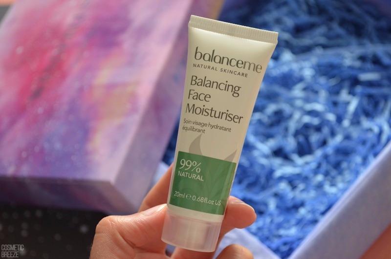 Lookfantastic Beauty Box Junio 2017- Crema Hidratante Equilibrante de Balance Me