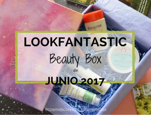 Lookfantastic Beauty Box Junio 2017- Wanderlust - Portada