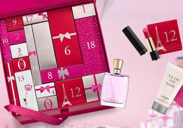calendario de adviento de belleza 2017 - Lancome