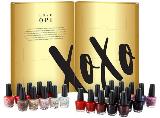 calendario de adviento de belleza 2017 - OPI advent calendar 2017