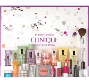 calendario de adviento de belleza 2017 - clinique 2