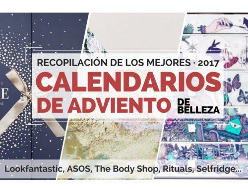 calendarios de adviento de belleza 2017