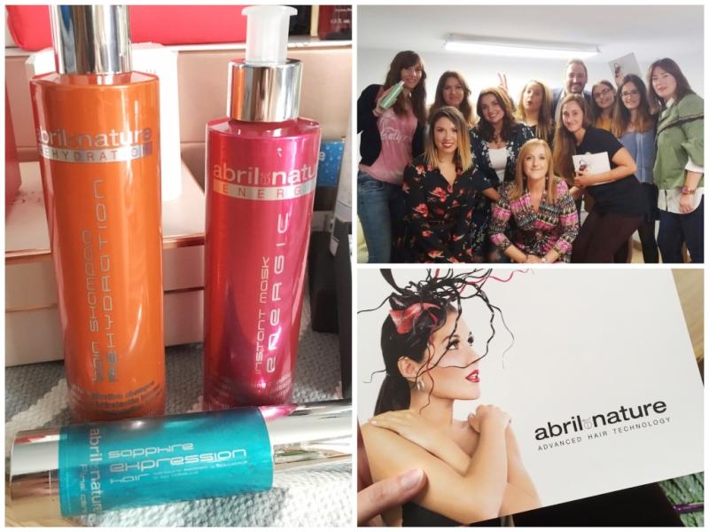 Evento Beauty Bloggers Bilbao 2017 - Abril Et Nature - Tratamientos profesionales para el cabello