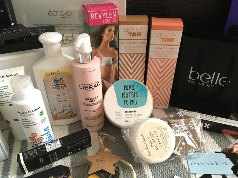 Evento Beauty Bloggers Bilbao 2017 - Amapola bio - Skinny tan - Intea - Abida - Italfrance