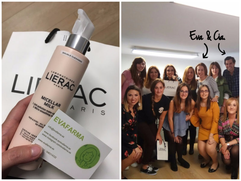 Evento Beauty Bloggers Bilbao 2017 - EVAFARMA y Lierac