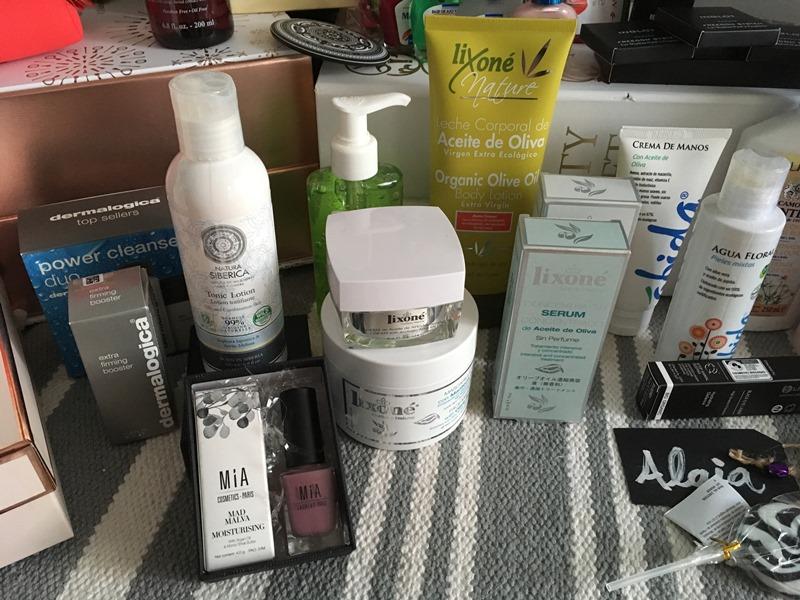 Evento Beauty Bloggers Bilbao 2017 - Mia Cosmetics - Natura Siberica - Dermalogica