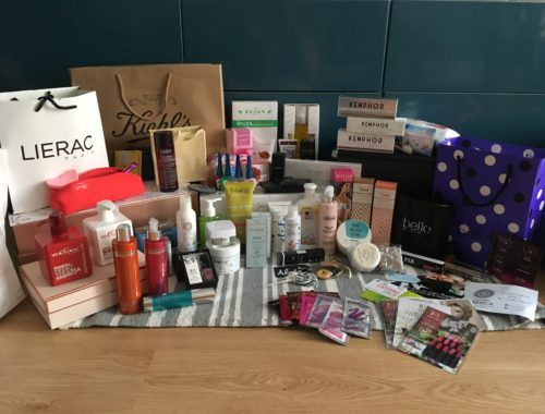Evento Beauty Bloggers Bilbao 2017 - Productos Recibidos