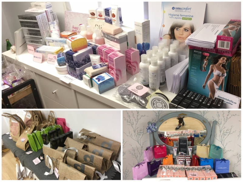 Evento Beauty Bloggers Bilbao 2017 - Productos de marcas colaboradoras