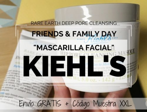 Mascarilla Rare Earth Pore Cleansing de KIEHLS - Friends and Family Day Kiehls 2017 (2)