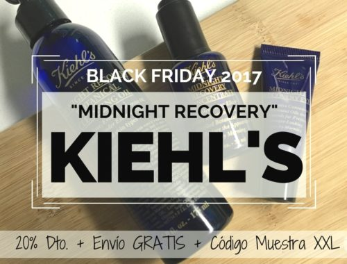 KIEHLS - BLACK FRIDAY 2017 - REVIEW GAMA MIDNIGHT RECOVERY de noche 2
