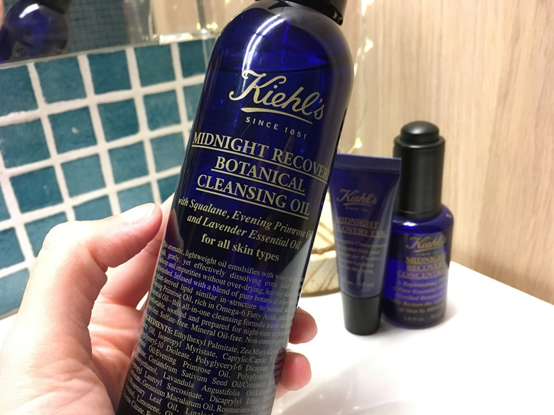 KIEHLS - BLACK FRIDAY 2017 - REVIEW Limpiadora Midnight Recovery Botanical Cleanser