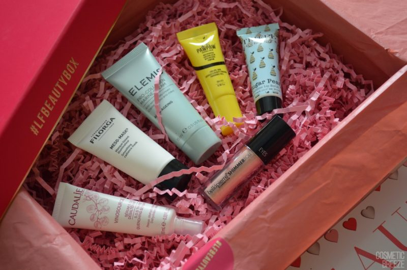 Lookfantastic Beauty Box Febrero 2018 - Beauty rendezvous - Contenido 2