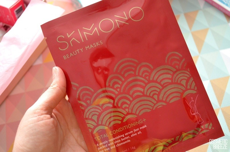 Lookfantastic Beauty Box de Marzo 2018 - Foot Mask de SKIMONO
