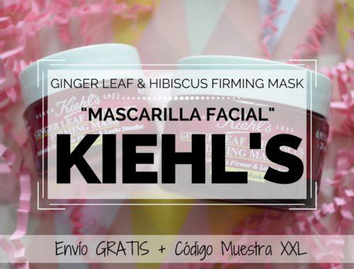 Mascarilla Ginger Leaf & Hibiscus Firming Mask de KIEHL'S Blog