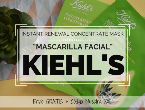 Mascarilla Instant Renewal Concentrate Mask de KIEHLS