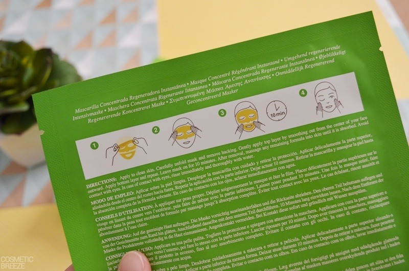 Mascarilla Instant Renewal Concentrate Mask de KIEHLS Indicaciones de uso (2)