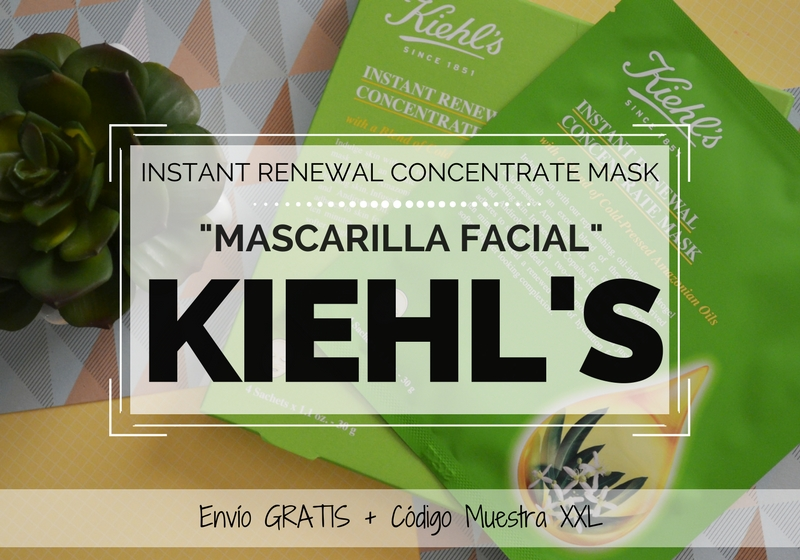 Mascarilla Instant Renewal Concentrate Mask de KIEHLS