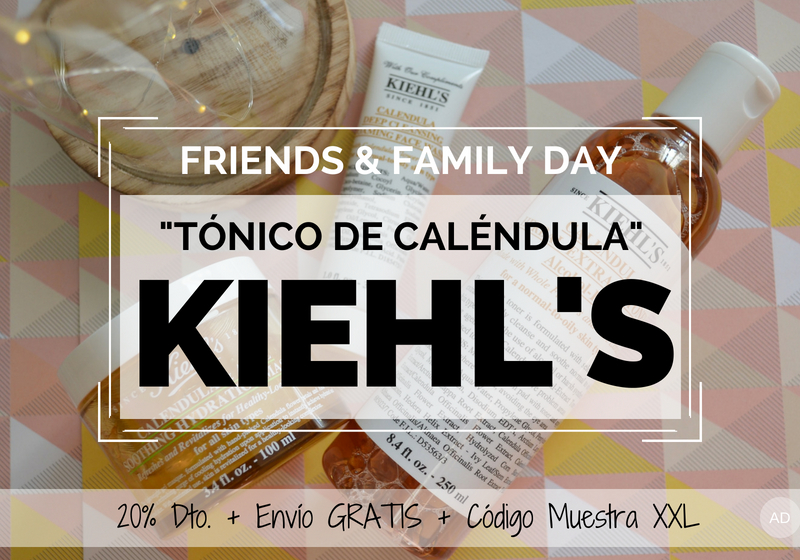 Tonico de Calendula de Kiehls - Friends and Family Day 2018