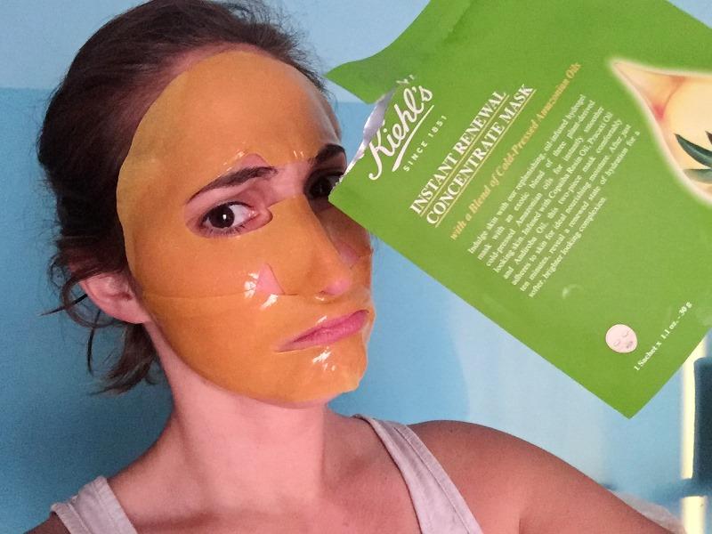 Yo y mi Mascarilla Instant Renewal Concentrate Mask de KIEHL'S