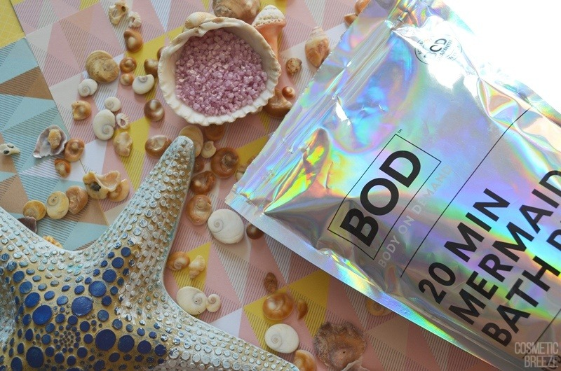 Feelunique Summer Shop - BOD 20min Mermaid Bath Salts