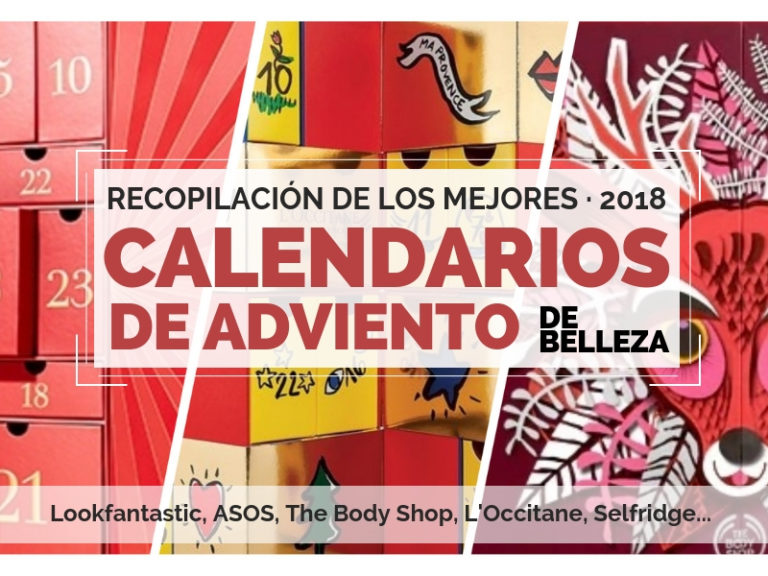 Lookfantastic - Calendario de Adviento de Lookfantastic 2018 - Beauty Advent Calendar 2018 Lookfantastic