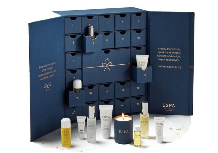 ESPA Calendario de Adviento de Belleza 2018 - ESPA Luxury Beauty Advent Calendar 2018