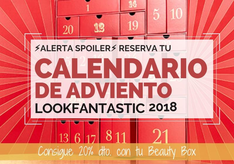 Lookfantastic - Calendario de Adviento de Belleza 2018