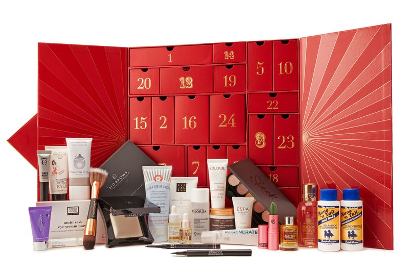 Lookfantastic - Calendario de Adviento de Lookfantastic 2018 - Lookfantastic 2018 Beauty Advent Calendar