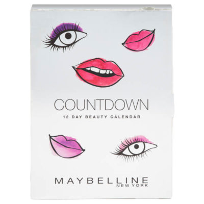 Maybelline Calendario de Adviento de Belleza 2018 Beauty Advent Calendar