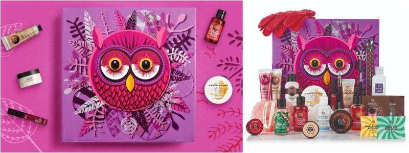 The Body Shop - Calendario de Adviento de Belleza 2018 - Calendario de Adviento Encantado 24 Dias
