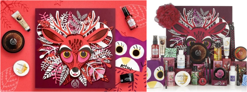 The Body Shop - Calendario de Adviento de Belleza 2018 Encantado Deluxe 25 Dias