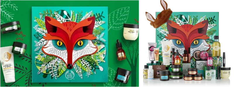 The Body Shop - Calendario de Adviento de Belleza 2018 Encantado Ultimate 25 Dias