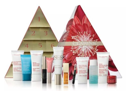 calendario de adviento de Clarins 2018 - womens advent calendar 2018 feelunique