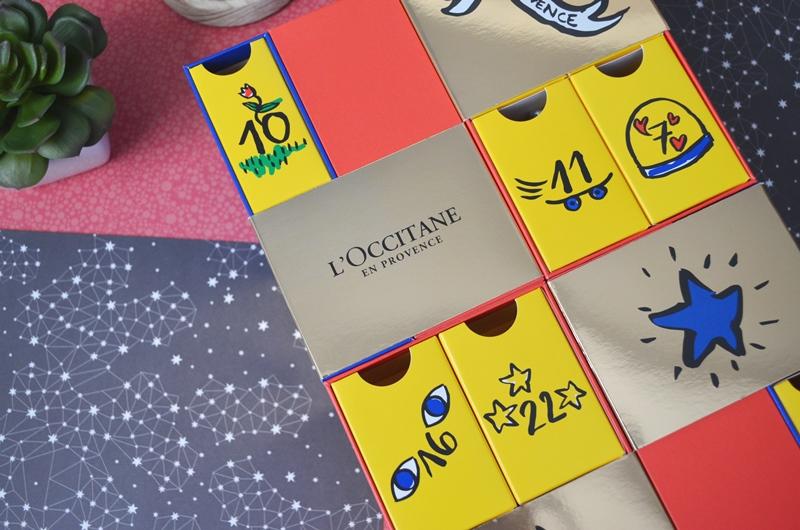 Calendario de Adviento Premium de L'Occitane 2018 - Calendario de Constelaciones - Diseño del Calendario Premium de Loccitane 2018 - 3
