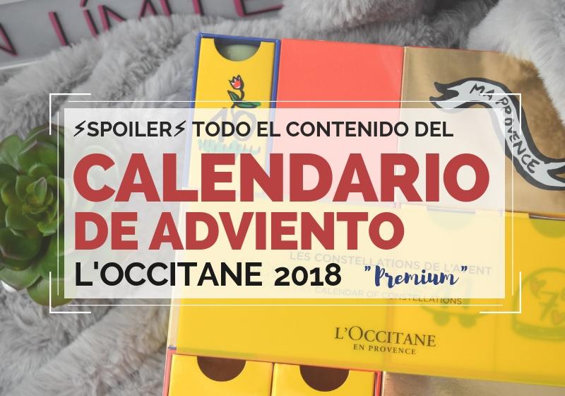 Calendario de Adviento Premium de Loccitane 2018 (2)