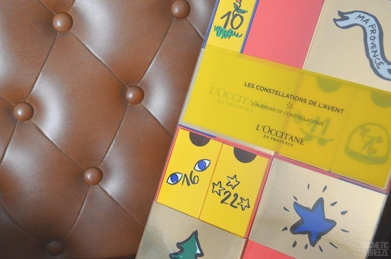 Calendario de Adviento Premium de L'Occitane 2018 - Calendario de Constelaciones - Diseño del Calendario Premium de Loccitane 2018