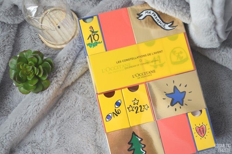Calendario de Adviento Premium de L'Occitane 2018 - Calendario de Constelaciones - Diseño del Calendario Premium de Loccitane 2018 - 2