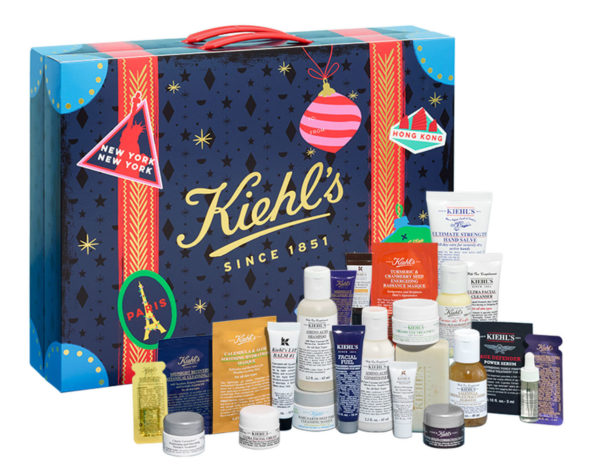 calendario de adviento kiehls 2018