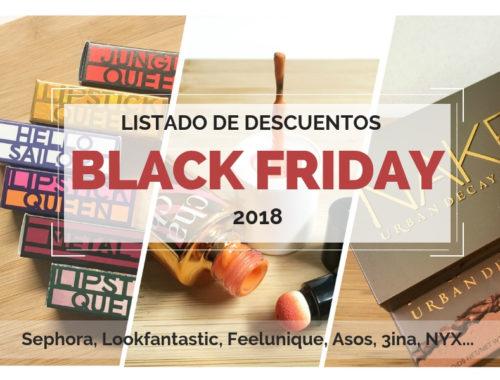 Lista de Descuentos Black Friday 2018