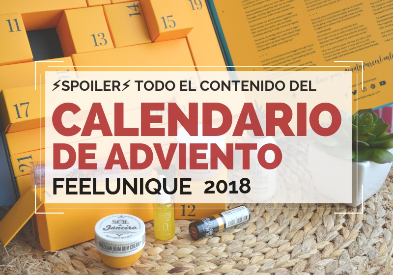 Calendario de Adviento de FEELUNIQUE 2018 - Feelunique Beauty Advent Calendar 2018 _the little beauty parcel_ (2)