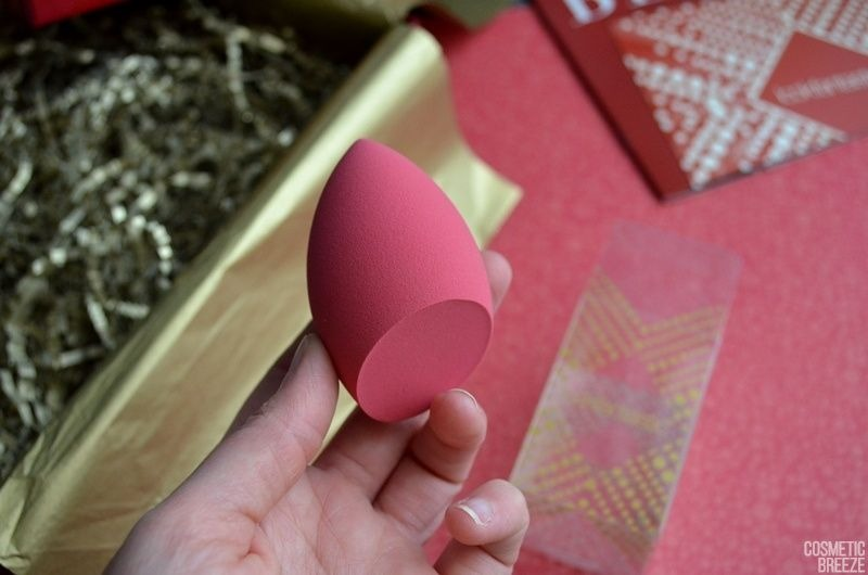 Lookfantastic Beauty Box de Diciembre 2018 Unboxing Christmas Edition - Lookfantastic Limited Edition Beauty Sponge Beauty Blender