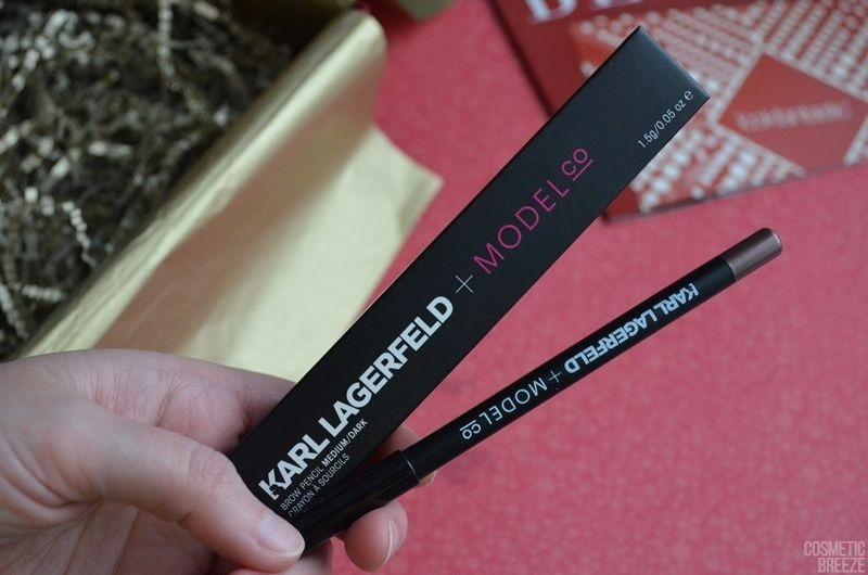 Lookfantastic Beauty Box de Diciembre 2018 Unboxing Christmas Edition - ModelCo Karl Lagerfield Lapiz de Cejas