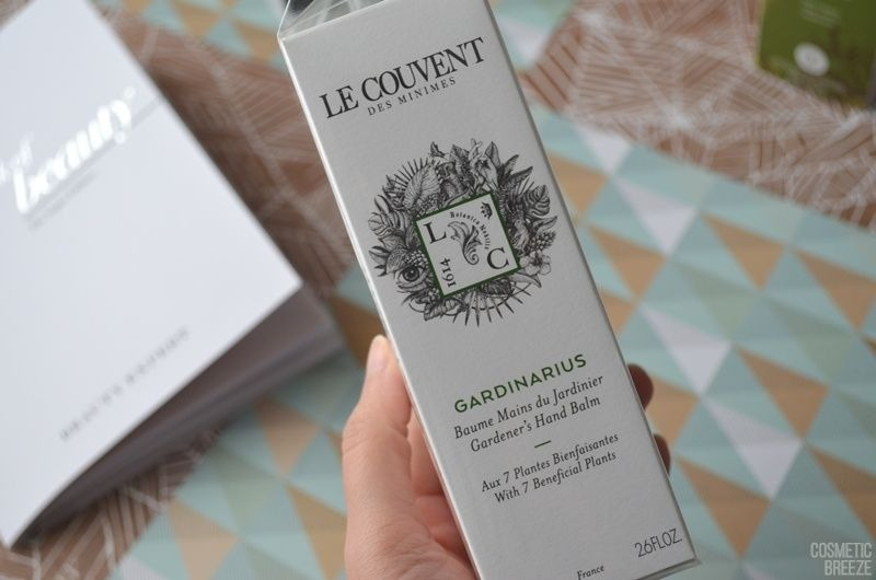 The Vegan Edition by Beauty Expert - Le Couvent des Minimes - Gardeners Hand Balm