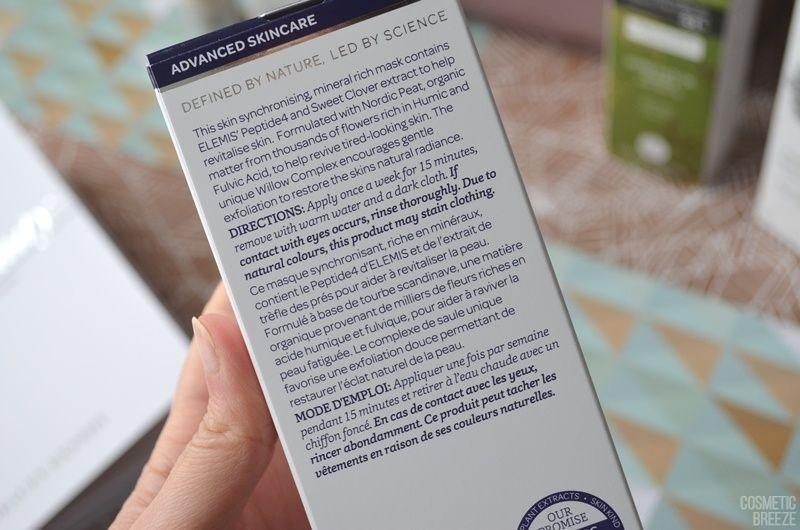 The Vegan Edition by Beauty Expert - ELEMIS Peptide4 Thousand Flower Mask Descripcion