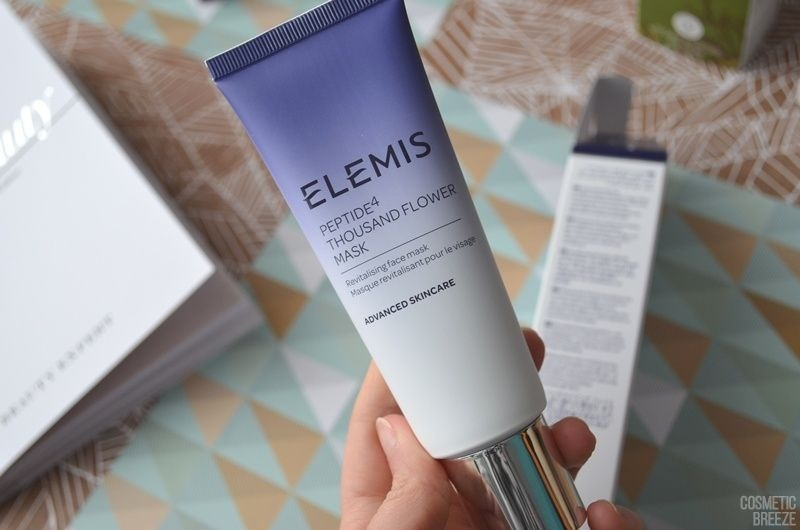 The Vegan Edition by Beauty Expert - ELEMIS Peptide4 Thousand Flower Mask Envase
