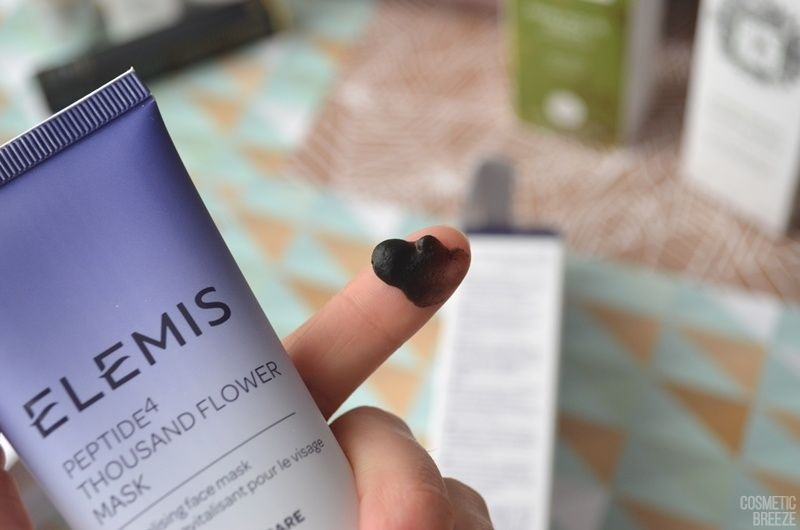 The Vegan Edition by Beauty Expert - ELEMIS Peptide4 Thousand Flower Mask Textura