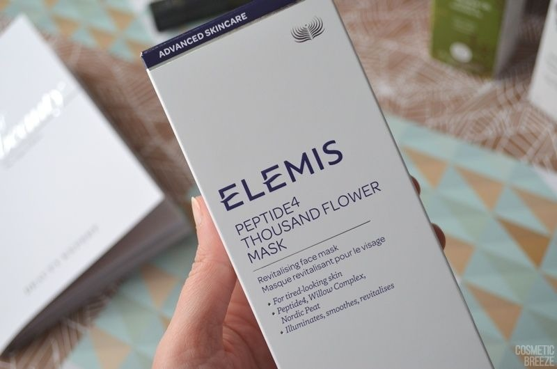 The Vegan Edition by Beauty Expert - ELEMIS Peptide4 Thousand Flower Mask