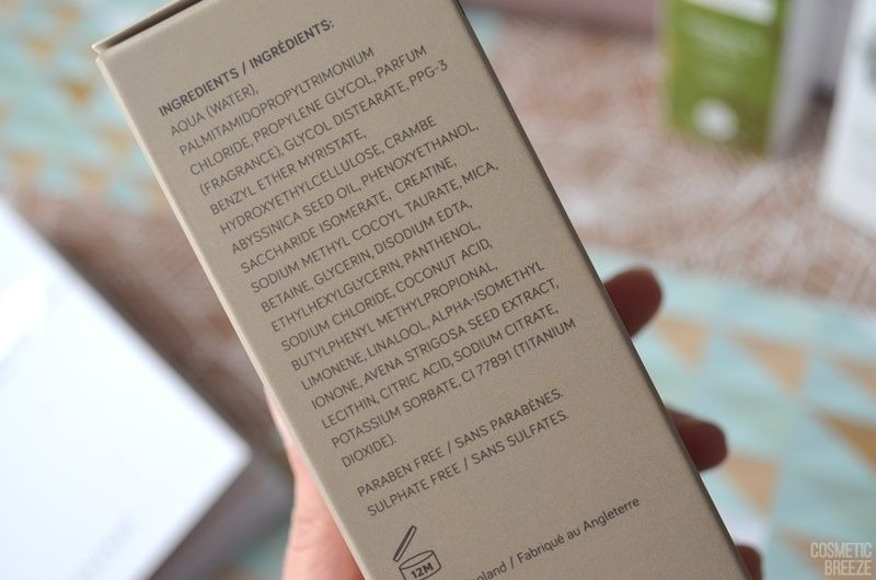 The Vegan Edition by Beauty Expert - GROW GORGEOUS Cleansing Conditioner 11in1 Ingredientes